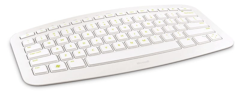 Microsoft Arc Keyboard Gets Surprisingly Good Looking Paint Job