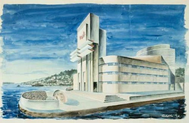 Great Architectural Designs That Were Never Built - tinoshare.com - blogowebgo.com