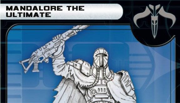 Star Wars Miniatures Sneak Preview: Mandalore the Ultimate