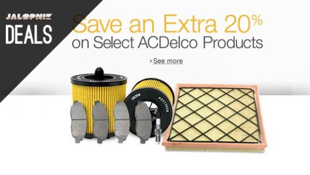 Deals: Auto Audio Upgrades, DIY Detailing, ACDelco Parts
