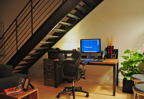 The Office Under the Stairs