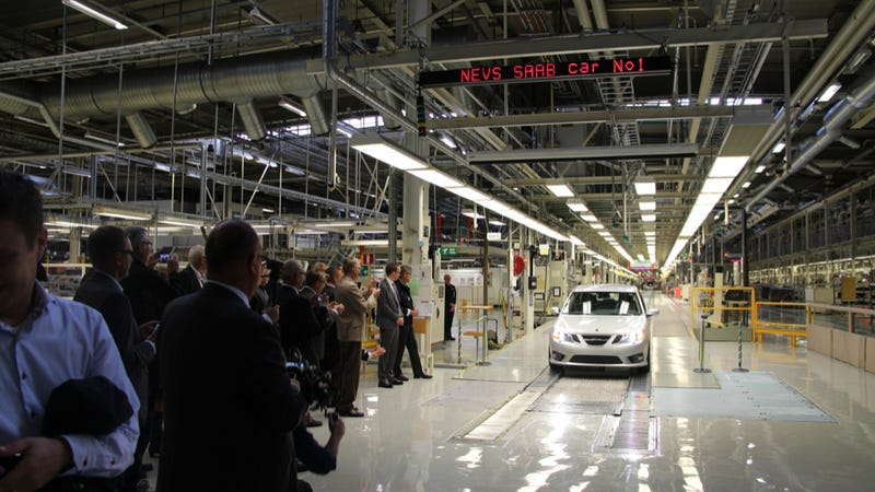 Saab Production Re-Starts Monday, Huzzah