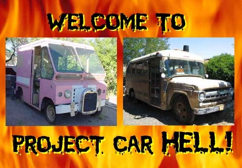 Project Car Hell: Pink Pig or Short Bus?