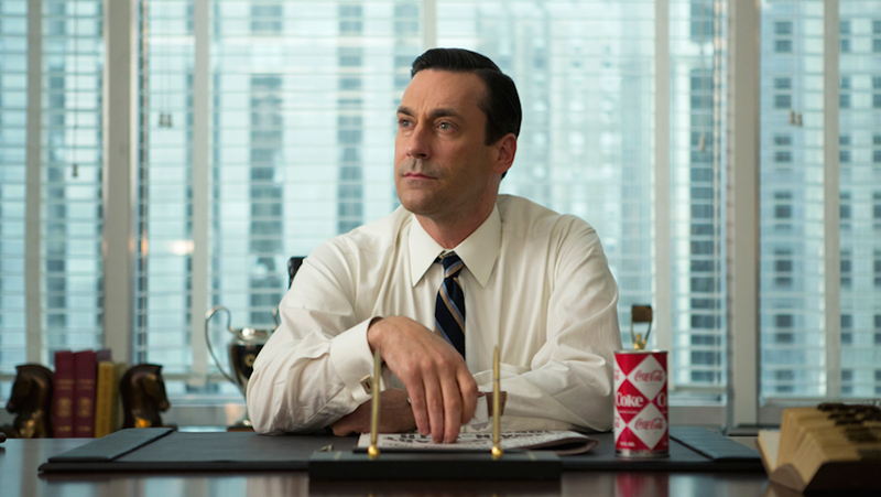 Drunk Don Draper Loses Control and Computers Take Over on Mad Men