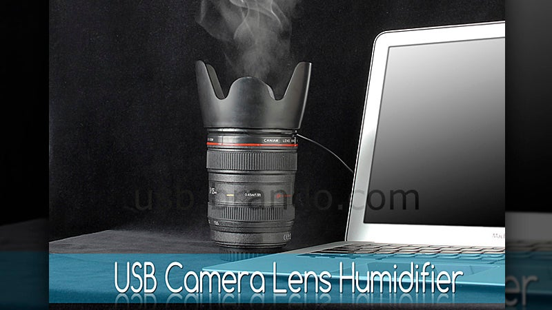 A Humidifier? It's Time To Stop With the Ridiculous Camera Lens Gadgets
