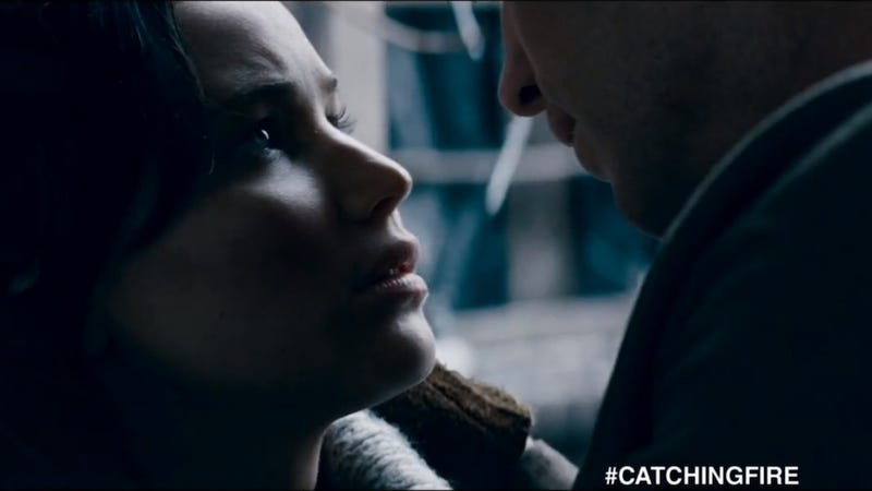 Want to See the New Catching Fire Footage? There's a Catch.