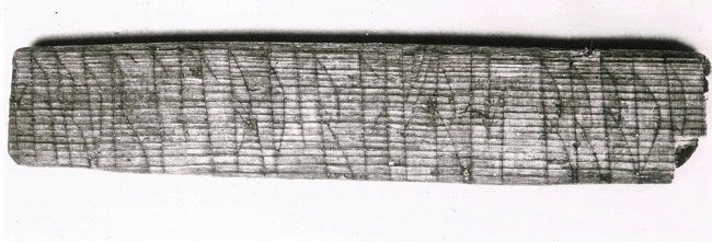 "900-year-old Viking code cracked to reveal secret message: ""Kiss me"""