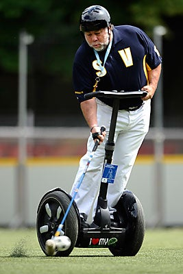 Steve Wozniak, Segway Polo Pioneer, Aims for the Goal