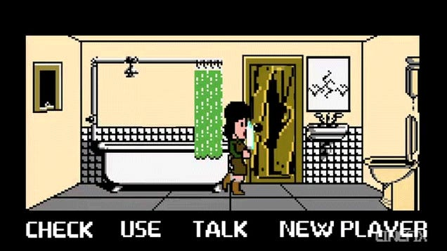 This retro adventure game version of the The Shining is so good