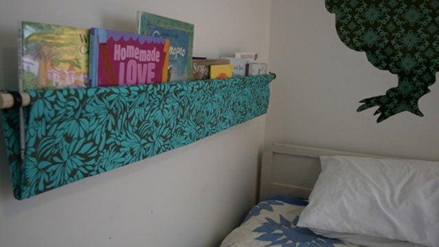 Make a Hanging Book Display