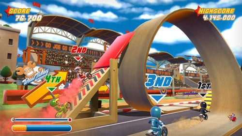 "Hello Games Introduces Joe Danger, Its Debut ""Stunt 'Em Up"""