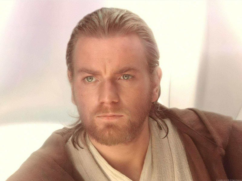 Obi-wan Kenobi may have an interracial daughter or granddaughter.