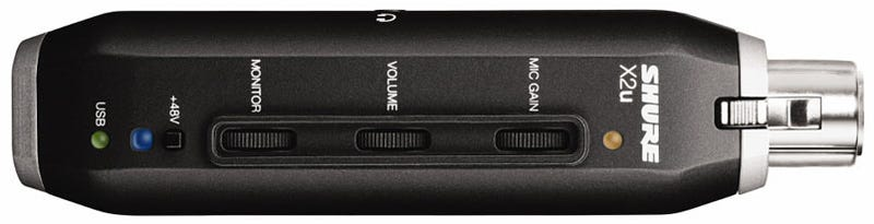 Shure Hits Home Recording with First USB Mics PG27USB and PG42USB and X2u Mic Adapter