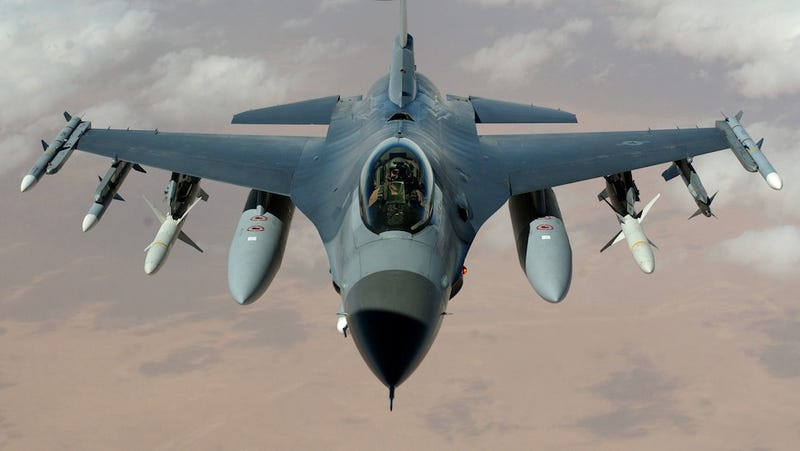 The Air Force Is Converting Its Old F-16s Into a Fleet of Drones