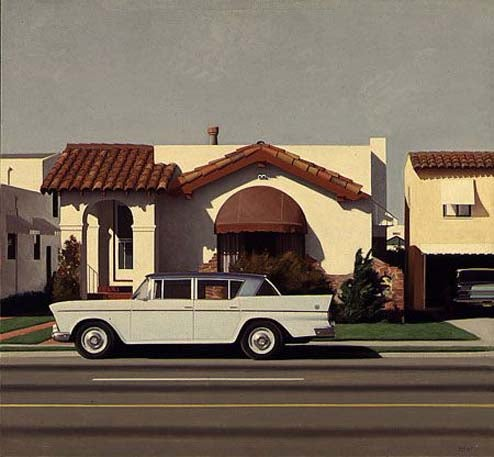 Car Paintings By Robert Bechtle