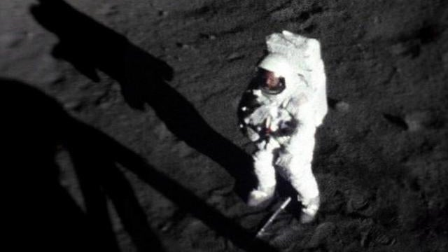The Only Photo of Neil Armstrong On the Moon