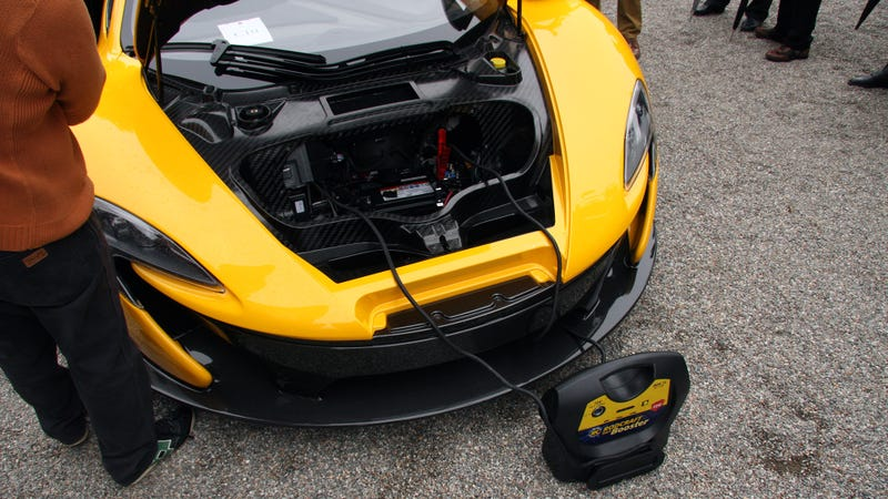 Jump-Starting The McLaren P1 Turned Out To Be Difficult