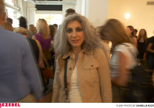Behnaz Sarafpour Spring/Summer '08 Show & Scene