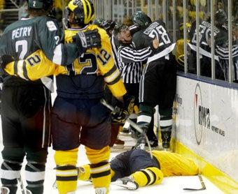 Michigan Hockey Player Victim Of Yet Another Mugging