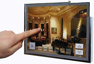 Domia X10 Fake Touchscreen Lighting Control