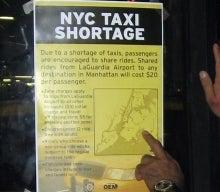 Sorta Taxi Strike Sorta Inconvenient