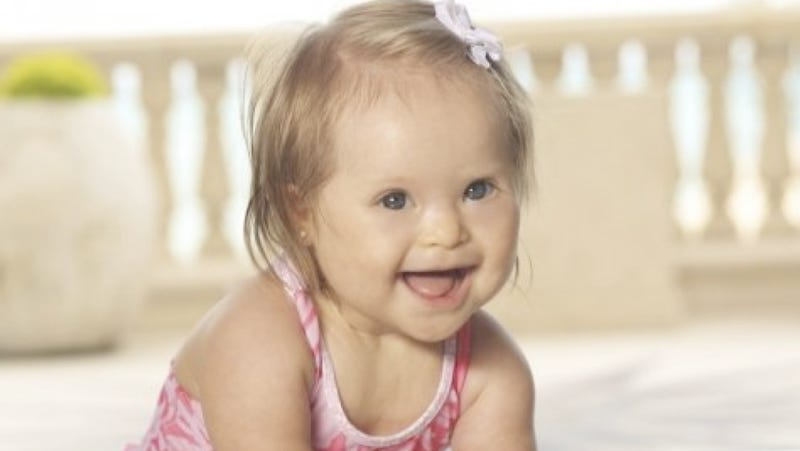10-Month-Old Girl with Down Syndrome Will Be the Face of Designer's Swimwear Ads