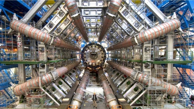 The Large Hadron Collider is tantalizingly close to finding the Higgs Boson