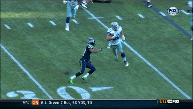 Seahawks 27, Cowboys 7: The Game In Four GIFs