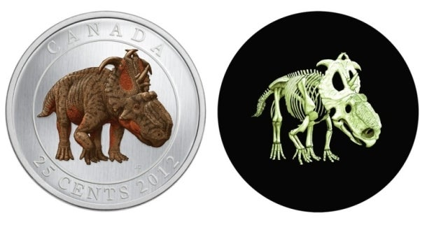 New Canadian coin features the incredibly badass Quetzalcoatlus — and it glows in the dark