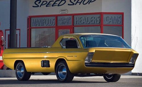 Futuristic Dodge Deora Concept Up For Auction