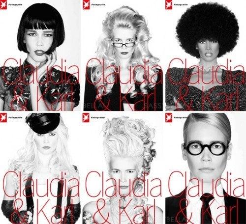 Karl And Claudia Do Blackface; Rihanna Might Book D&G