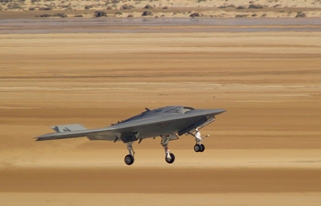 X-47B Autonomous Flying Wing Hopes to Grow Up and Land on Aircraft Carriers Some Day