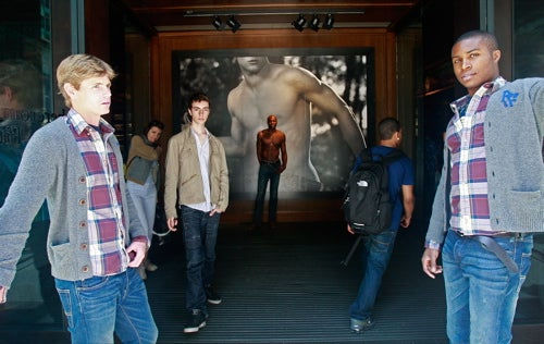 Teens Protest Abercrombie & Fitch's Cologne-Filled Stores