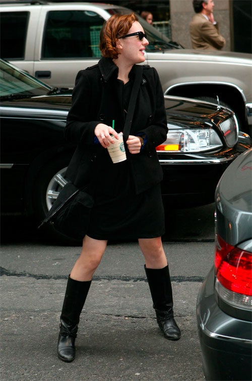 Elisabeth Moss: Little Red Riding Boots