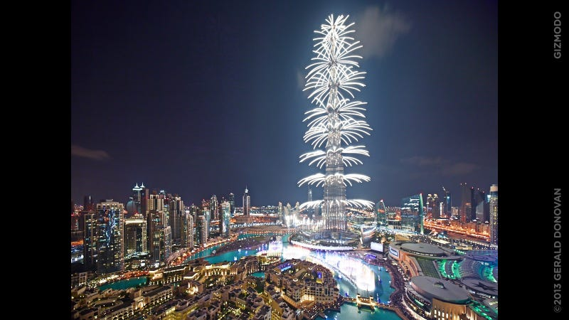 The Most Spectacular New Year's Eve Fireworks Are Definitely In Dubai