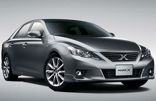 2010 Toyota Mark X Is The Aggressive GS We Don't Get