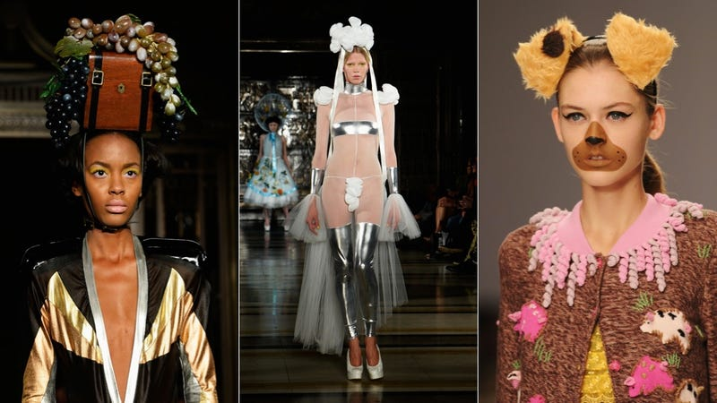 The Most WTF Looks From London Fashion Week