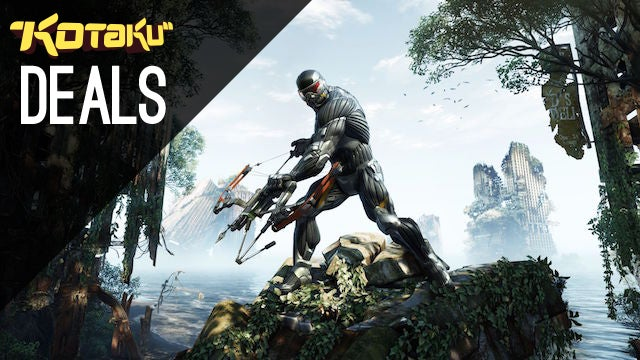 Deals: Crabs Adjust Humidity, Crysis Trilogy, 5 Free Games, Transistor