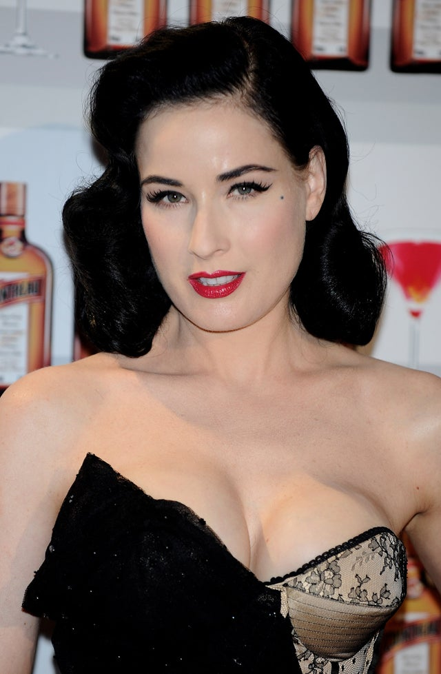 Dita Von Teese's Cleavage Too Offensive For TV