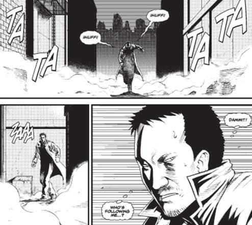 Batman Goes Manga, Gets Gory