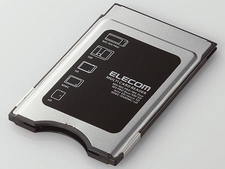 Elecom PCMCIA Card Reader With SDHC