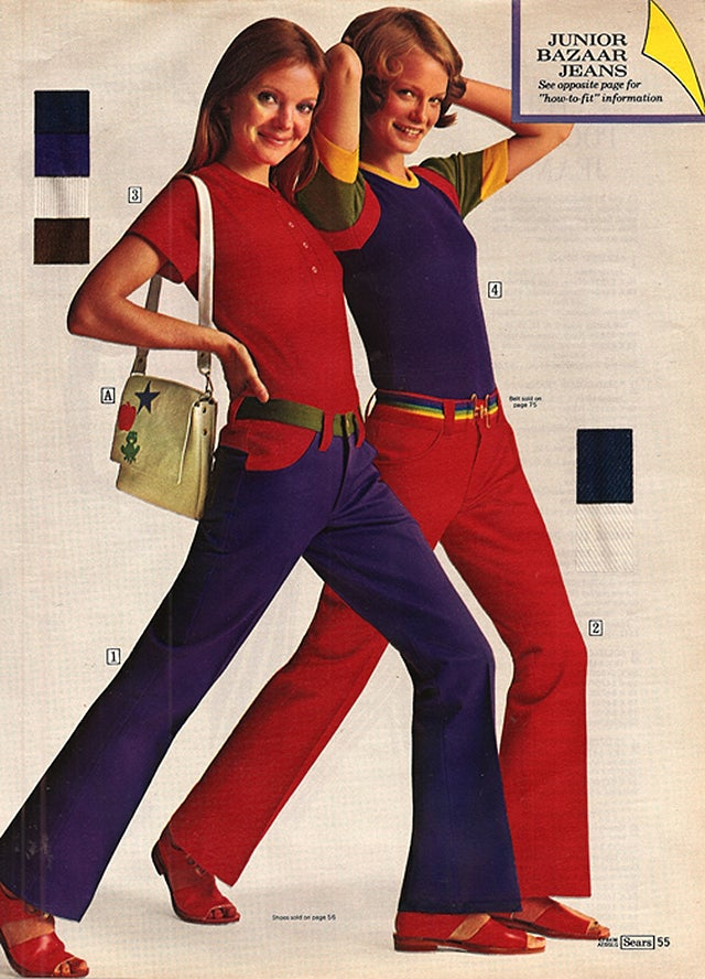 Let's Shop for Jeans in the 1970s
