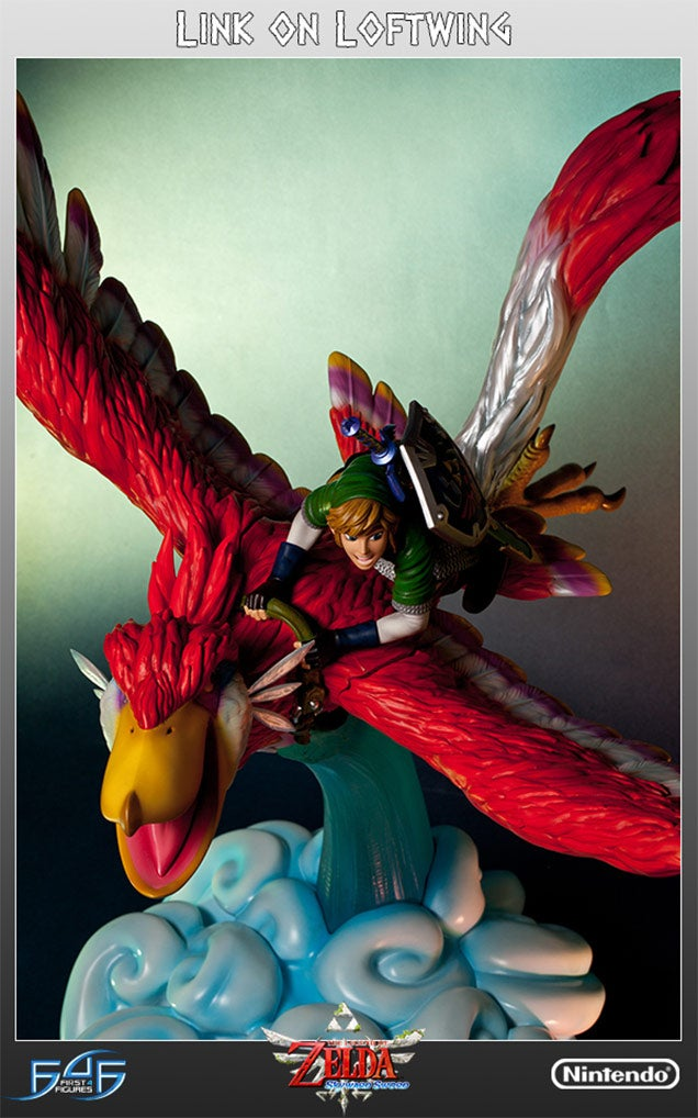 Link is Incredibly Pleased With This Skyward Sword Statue | Kotaku UK