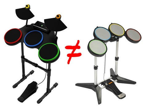 PS3 Guitar Hero Drums Aren't Working in Rock Band