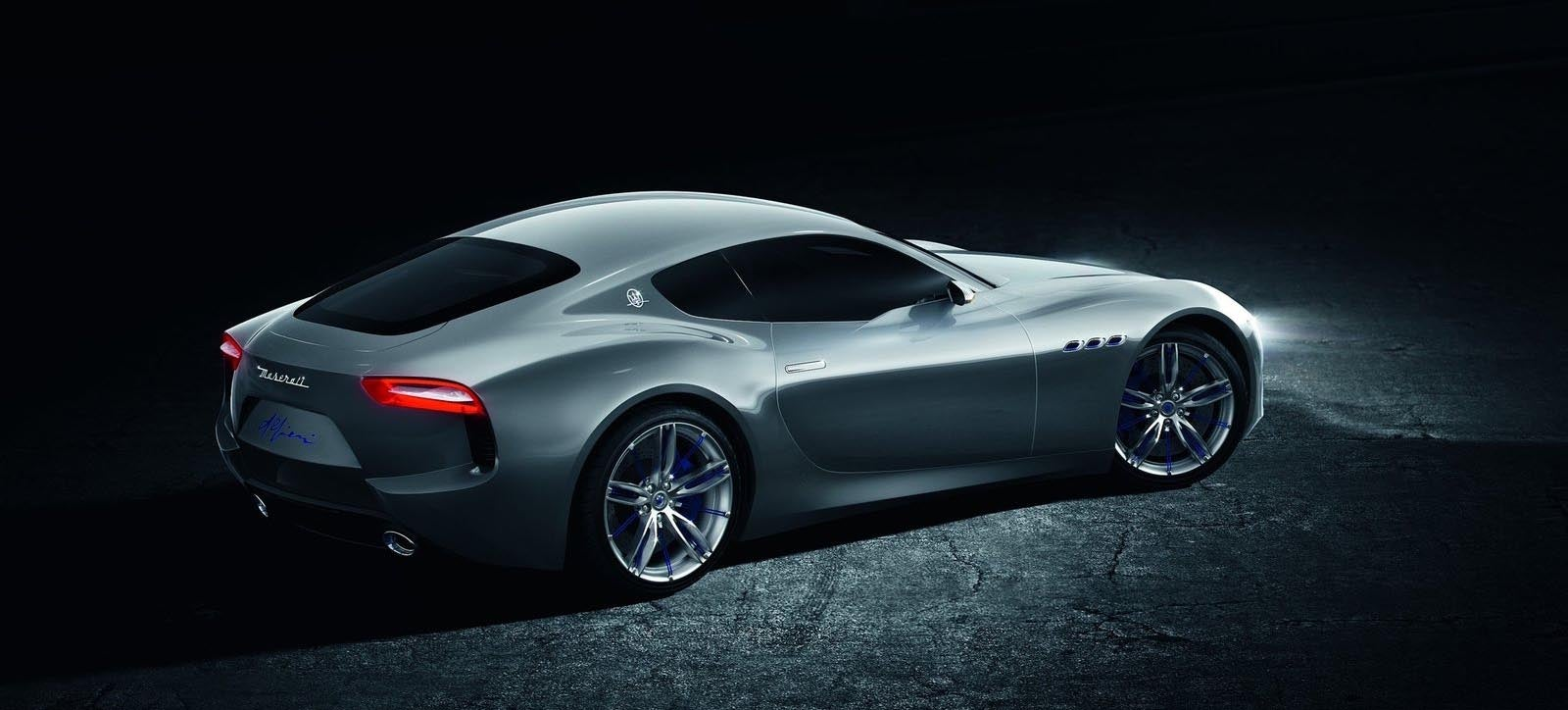 Sexy Maserati Alfieri Coupe And 'Vert Confirmed With Sexy V6 Power