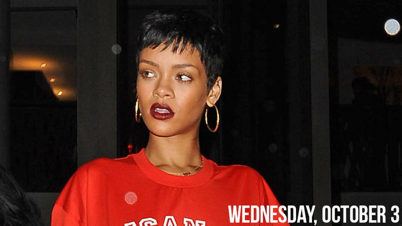 Rihanna and Chris Brown Maybe Did Sex in a Bar Bathroom Last Night
