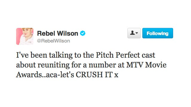 Rebel Wilson Will Try to Bring A Cappella to the MTV Movie Awards