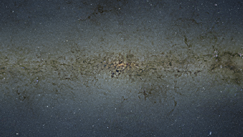 Dive Right Into the Largest Ever Image of Our Galaxy's Centre