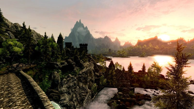 Turning Skyrim Into A Game That's Not Even Skyrim Anymore