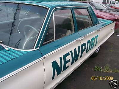 1965 Chrysler Newport Is Homage To Cigarette Pack, Seller Claims It Fits 10 Dead Prostitutes In Trunk
